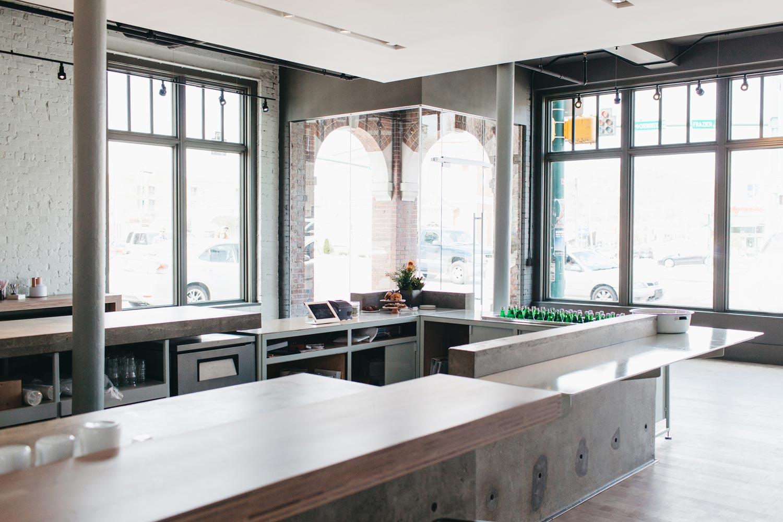 Revelator Chattanooga modern coffee shop inside view of shop