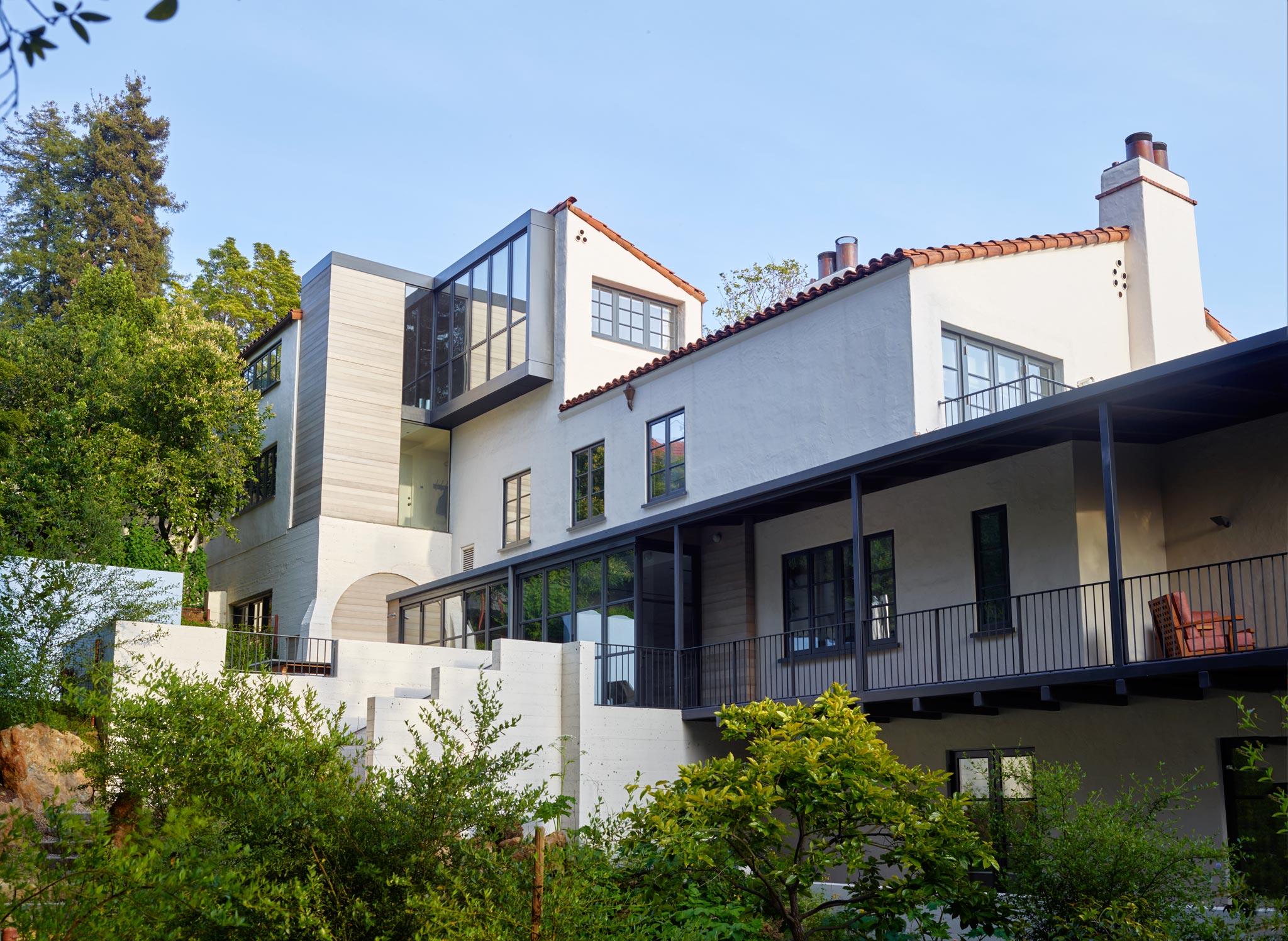 McDuffie Estate in Berkeley exterior view of house