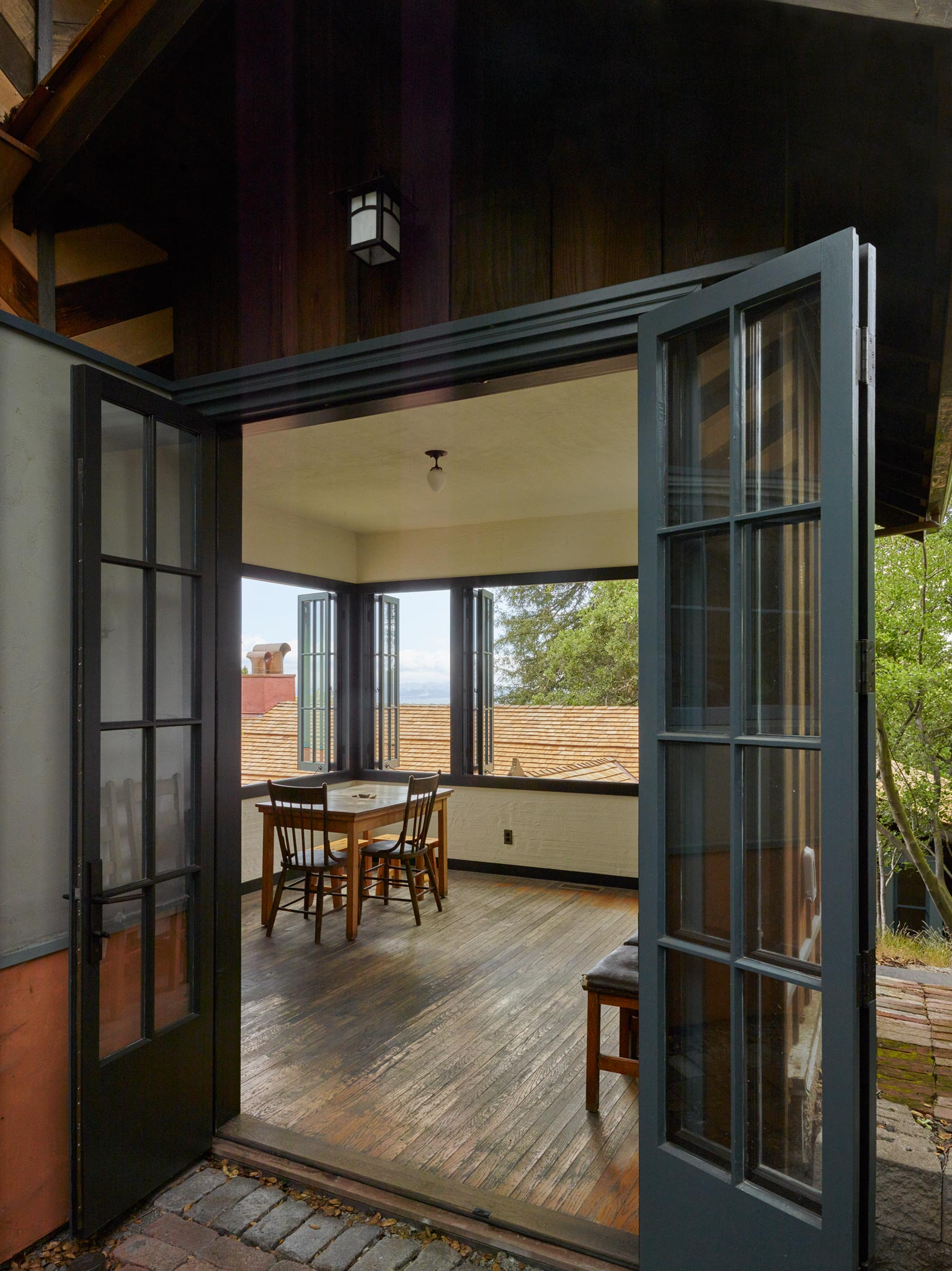 Tolman Cottages restoration of local landmark inside view of living space