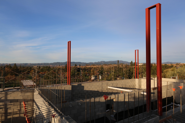 Silverado construction site in Napa Valley